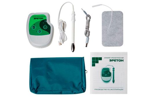 Erectron prosztatagyulladás kezelésére